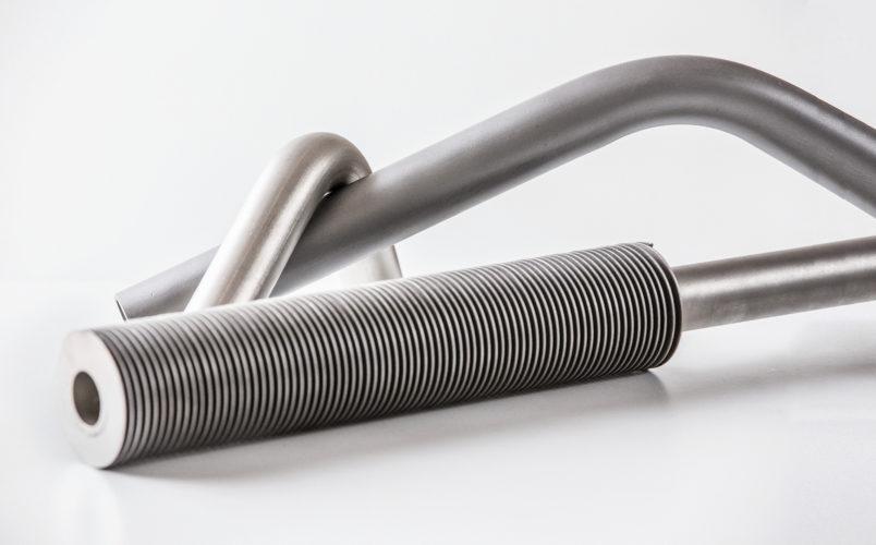 Трубы со спиральными ребрами